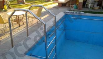 Confecții inox diverse – Scară piscină